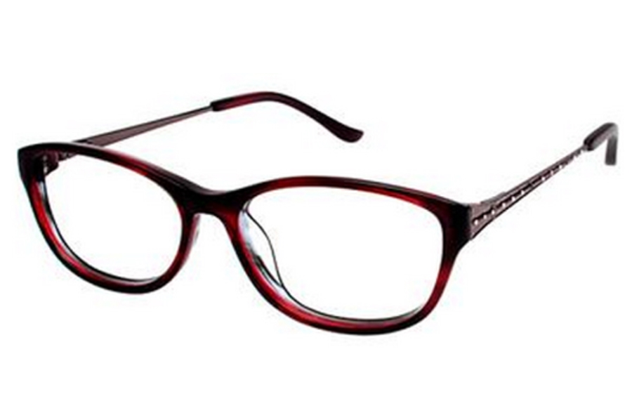 Tura R512 Eyeglasses in BUR Burgundy